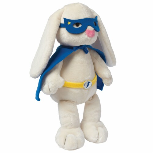 Manhattan Toy Superhero Bunny Plush Toy Perspective: bottom