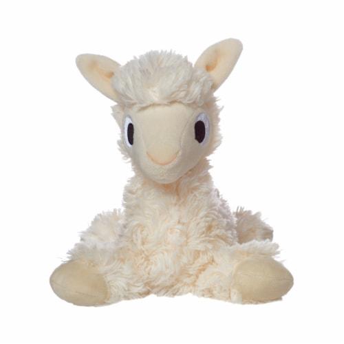 "Manhattan Toy Floppies 7"" Baby Llama Plush Toy Perspective: bottom"