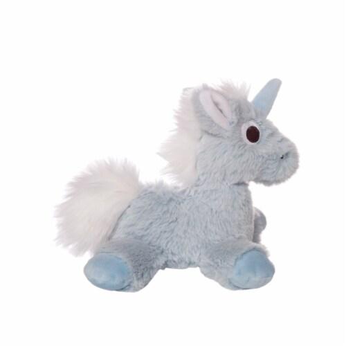 "Manhattan Toy Floppies 7"" Baby Unicorn Plush Toy Perspective: bottom"