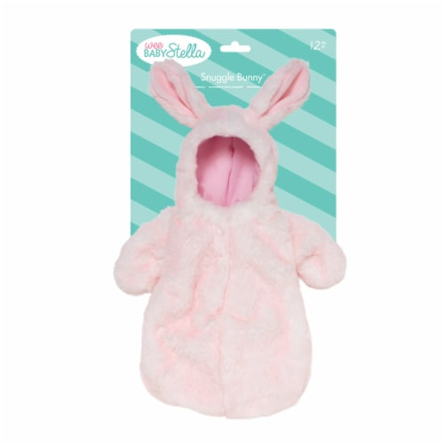 """Manhattan Toy Wee Baby Stella Snuggle Bunny 12"""" Baby Doll Sleeper Perspective: bottom"""