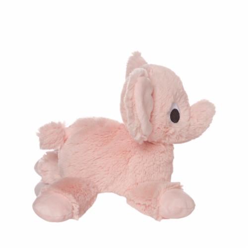 "Manhattan Toy Floppies 7"" Baby Elephant Plush Toy Perspective: bottom"