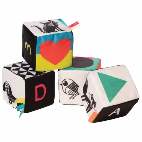 Manhattan Toy Wimmer-Ferguson Mind Cubes Soft Baby Activity Toy Perspective: bottom