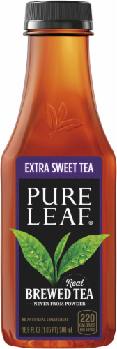 Pure Leaf Extra Sweet Brewed Iced Tea Perspective: bottom