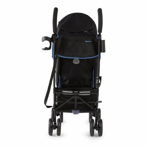 Summer Infant 3Dlite+ Convenience One-Hand Adjustable Stroller Blue/Black Perspective: bottom
