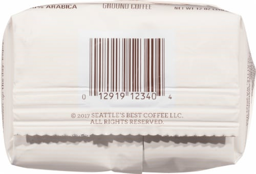 Seattle's Best Coffee Very Vanilla Ground Coffee Perspective: bottom