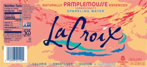 LaCroix® Pamplemousse Grapefruit Sparkling Water Perspective: bottom