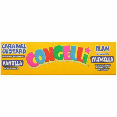 Congelli Vanilla Caramel Custard Flan Perspective: bottom