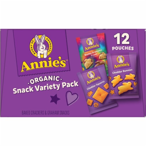 Annie's Homegrown Snack Time Variety Pack Perspective: bottom