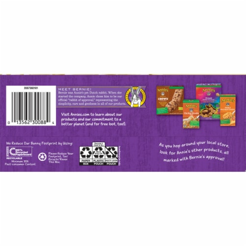 Annie's Microwavable White Cheddar Macaroni & Cheese 5 Count Perspective: bottom