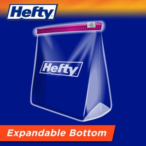 Hefty® Storage Gallon Slider Bags Value Pack Perspective: bottom