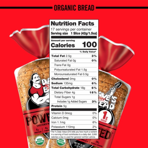 Dave's Killer Bread® Organic Powerseed® Bread Perspective: bottom