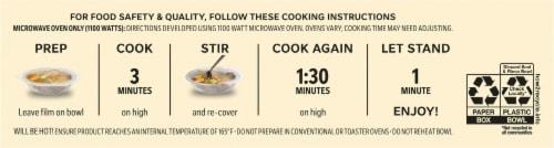 Life Cuisine™ Pasta Bolognese Bowl Frozen Meal Perspective: bottom