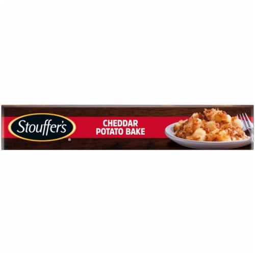 Stouffer's® Cheddar Potato Bake Frozen Meal Perspective: bottom