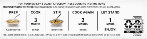 Lean Cuisine® Bowls Sweet and Sour Chicken Frozen Meal Perspective: bottom