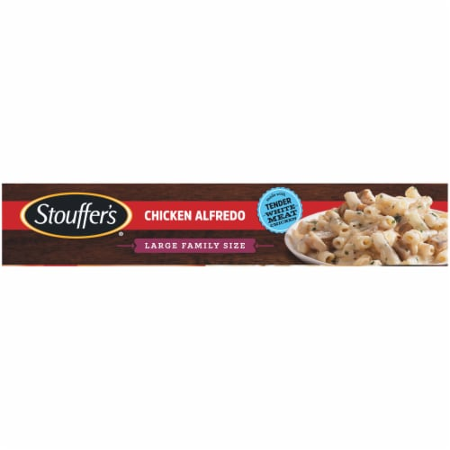 Stouffer's Large Family Size Chicken Alfredo Frozen Meal Perspective: bottom