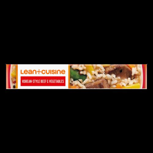 Lean Cuisine® Features Sweet & Spicy Korean-Style Beef Frozen Meal Perspective: bottom