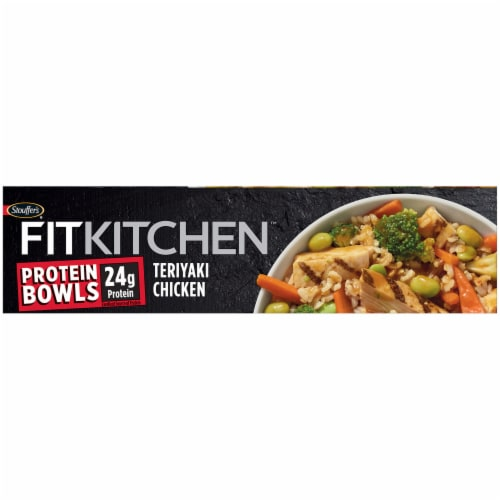 Stouffer's Fit Kitchen Bowls Teriyaki Chicken Bowl Frozen Meal Perspective: bottom