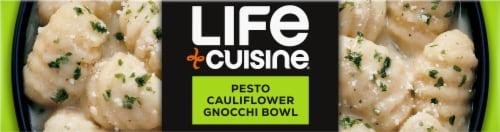 Life Cuisine Pesto Cauliflower Gnocchi Bowl Frozen Meal Perspective: bottom