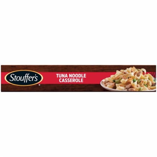 Stouffer's Tuna Noodle Casserole Frozen Meal Perspective: bottom