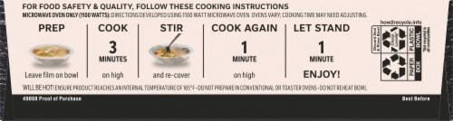 Life Cuisine™ Greek Style Chicken Feta Bowl Frozen Meal Perspective: bottom
