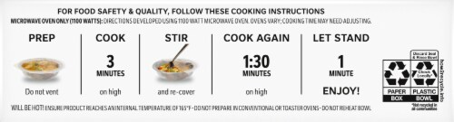 Lean Cuisine® Oven Fried Chicken and Mashed Potatoes Frozen Entrée Perspective: bottom