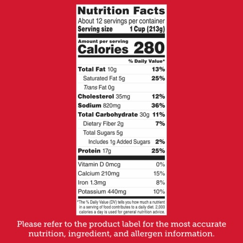 Stouffer's Party Size Lasagna with Meat & Sauce Frozen Meal Perspective: bottom