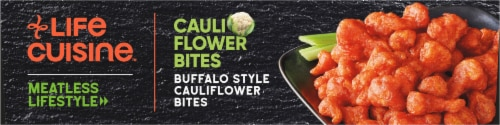 Life Cuisine Buffalo Style Cauliflower Bites Perspective: bottom
