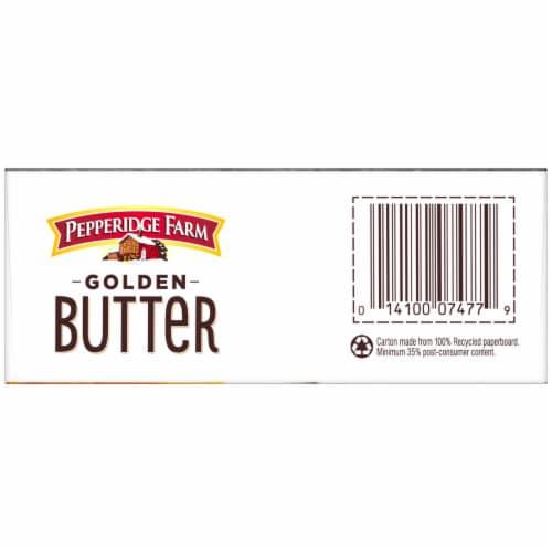 Pepperidge Farm Golden Butter Crackers Perspective: bottom