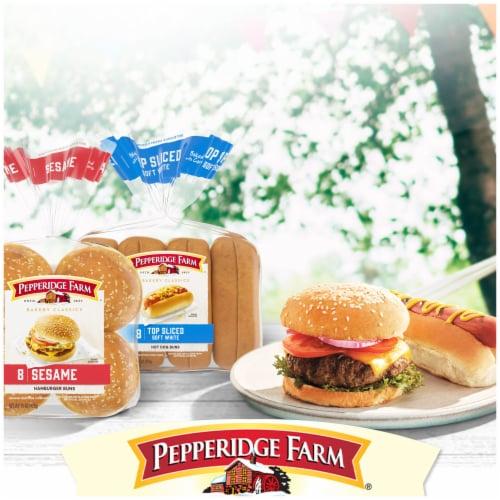 Pepperidge Farm Bakery Classics Golden Potato Hamburger Buns Perspective: bottom