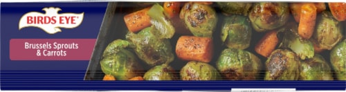 Birds Eye® Oven Roasters Brussels Sprouts and Carrots Frozen Vegetables Family Size Perspective: bottom