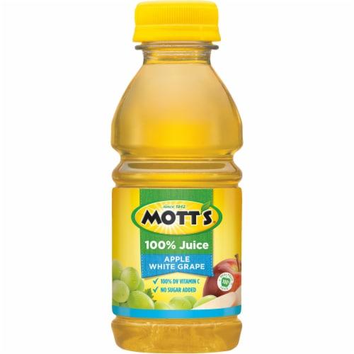 Mott's 100% Apple White Grape Juice Perspective: bottom