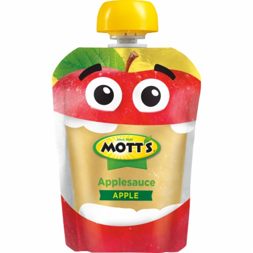 Mott's Applesauce Pouches Perspective: bottom