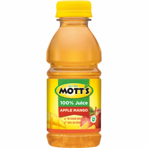 Mott's Apple Mango Juice Perspective: bottom