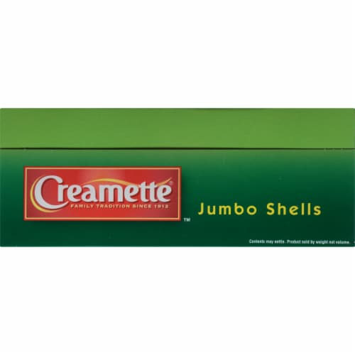 Creamette Jumbo Shells Pasta Perspective: bottom