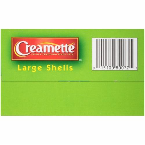 Creamette® Large Shells Pasta Perspective: bottom