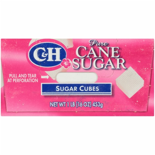 C&H Pure Cane Sugar Cubes Perspective: bottom