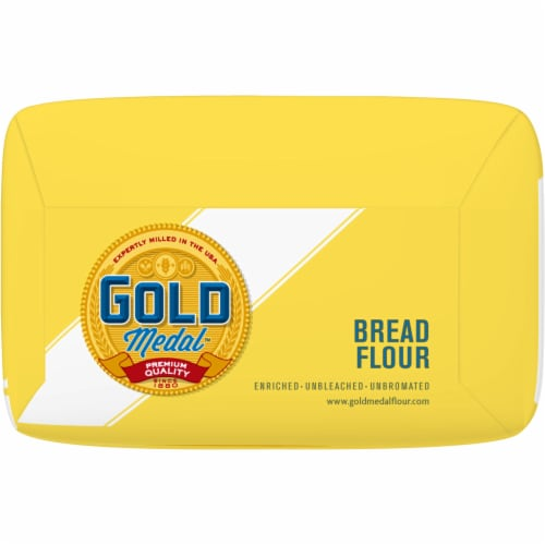 Gold Medal Unbleached Bread Flour Perspective: bottom