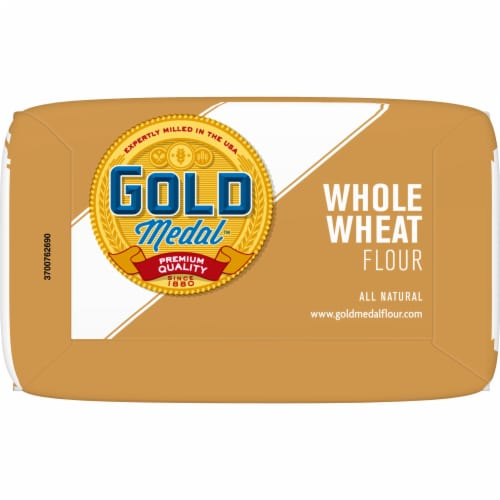 Gold Medal Whole Wheat Flour Perspective: bottom
