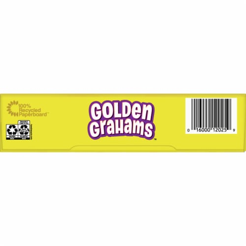 General Mills Golden Grahams Cereal Perspective: bottom
