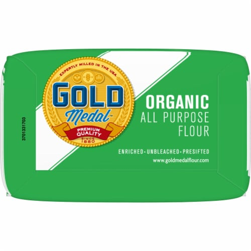 Gold Medal Organic All Purpose Flour Perspective: bottom