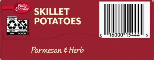 Betty Crocker Parmesan & Herb Crispy Skillet Potatoes Perspective: bottom