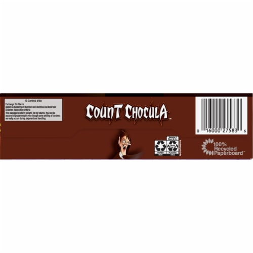 General Mills Count Chocula™ Cereal Perspective: bottom
