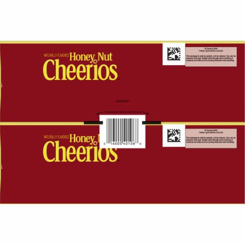 Honey Nut Cheerios Cereal Twin Pack Perspective: bottom
