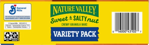 Nature Valley Sweet & Salty Nut Granola Bars Variety Pack Perspective: bottom