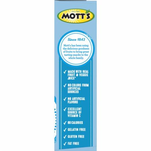 Mott's Assorted Fruit Flavored Snacks Perspective: bottom