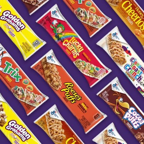 General Mills Golden Grahams Smores Treat Bars Perspective: bottom