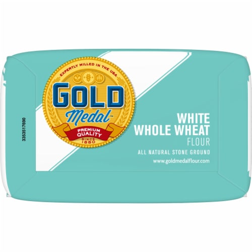 Gold Medal White Whole Wheat Flour Perspective: bottom