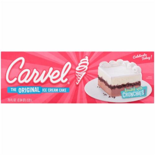 Carvel® The Original Ice Cream Cake Perspective: bottom