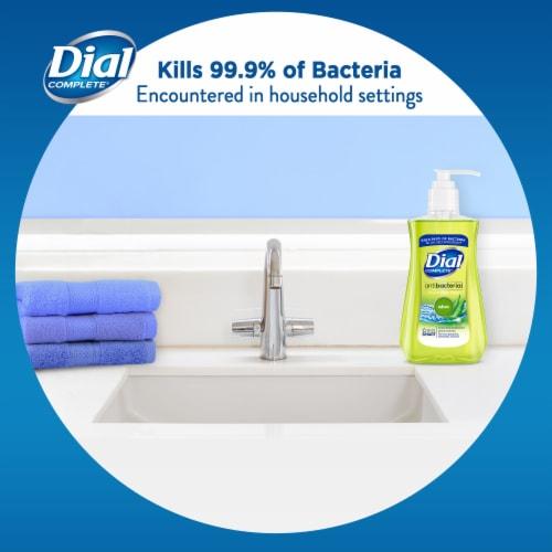 Dial Complete® Aloe Antibacterial Liquid Hand Soap Perspective: bottom