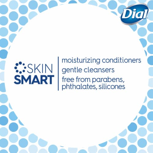 Dial Sea Minerals Enriching Body Wash Perspective: bottom